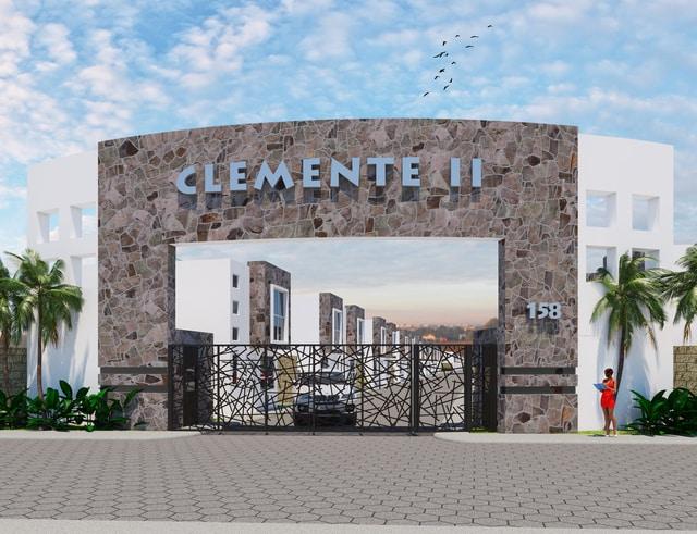 Arco de acceso - Clemente Residencial